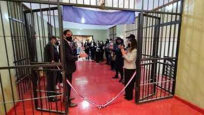 Justicia habilita pabellón en la Penitenciaría de Concepción