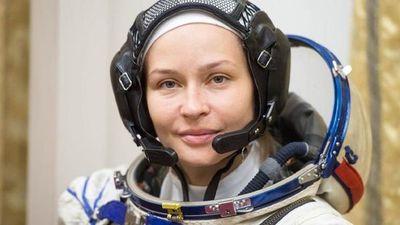 Actriz se somete al último examen antes de rodar film en el espacio