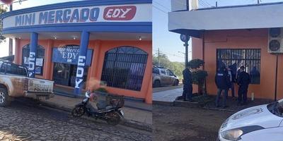 HURTO AGRAVADO EN LOCAL COMERCIAL DE ARROYO PORA