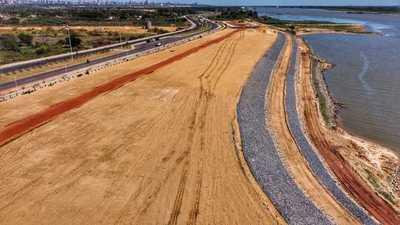 Costanera Norte: Importantes avances en el parque lineal