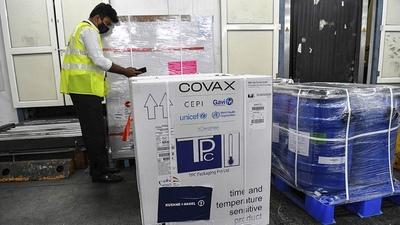 Borba anuncia arribo de vacunas del deslucido mecanismo Covax