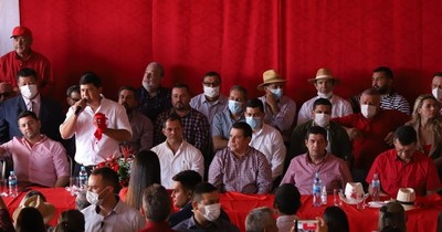 La Nación / Previo al 134° aniversario de fundación, la ANR celebra su unidad en San Pedro
