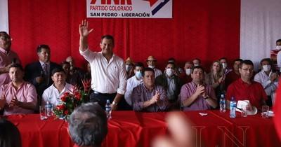 La Nación / Candidato a intendente de Liberación pide teñir de rojo el departamento de San Pedro