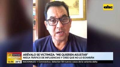 """Martín Arévalo niega tráfico de influencias y afirma que """"lo quieren asustar"""""""