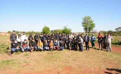 CDE Respira: plantaron más de 4.000 arbolitos en espacios públicos