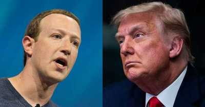 """""""Solía venir a besarme el trasero"""": Trump critica a Zuckerberg luego que fuera bloqueado por las redes sociales"""