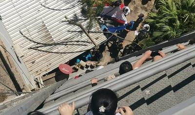 Mujer se suicido lanzándose del 9° piso del edificio del IPS