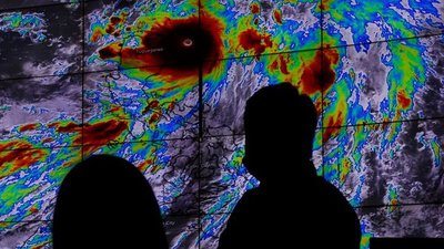 China en alerta por la llegada del tifón Chanthu