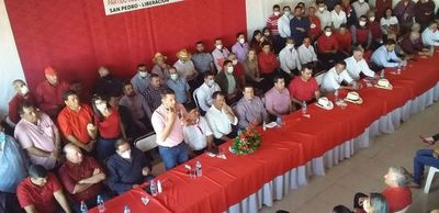 Cartes y Velázquez se reunieron con candidatos colorados de San Pedro