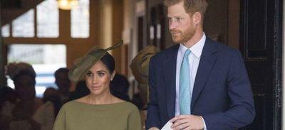 Los duques de Sussex irán a Londres para bautizar a su hija