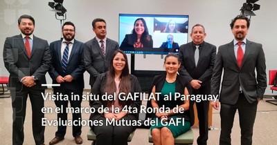 La Nación / Gafilat resalta atención de Seprelad al equipo evaluador de Paraguay