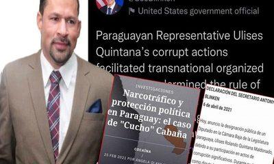 Acusaciones contra Ulises Quintana van desde tráfico de cocaína hasta facilitar el crimen organizado transnacional – Diario TNPRESS