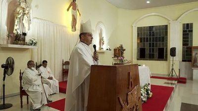 Obispo reclama al Gobierno acciones contra la inseguridad en el Norte