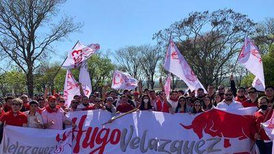 Hugo Velázquez apunta al 2023 y lleva hinchada en festejos de la ANR