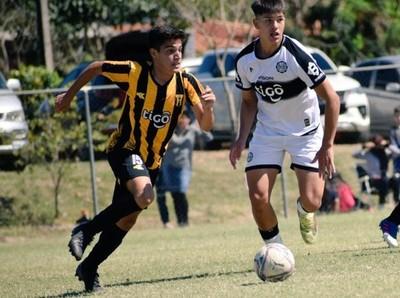 Olimpia y Guaireña FC lideran en la Sub 16