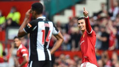 Cristiano Ronaldo celebra su fiesta con doblete