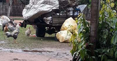 La Nación / Comprador de chatarra denunciado por contaminar el medio ambiente