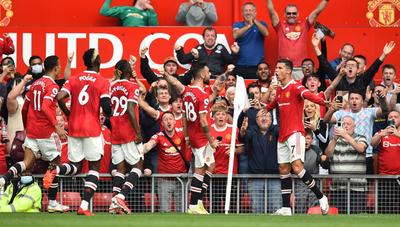 Cristiano Ronaldo regresa al Manchester United con un doblete