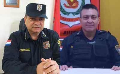 Nuevo Director de la Policía y Jefe de Seguridad Ciudadana del Departamento de Caaguazú