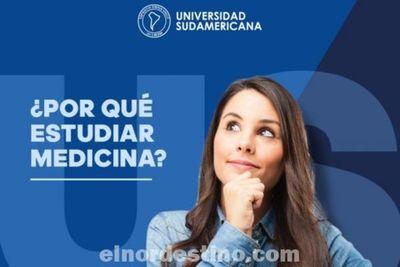 La decisión de ser médico es tan personal como elegir cualquier otra carrera profesional, sugiere Universidad Sudamericana