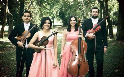 """Cuarteto Hyapu triunfa en el 1° Concurso """"Lorenzo N. Livieres Banks"""""""