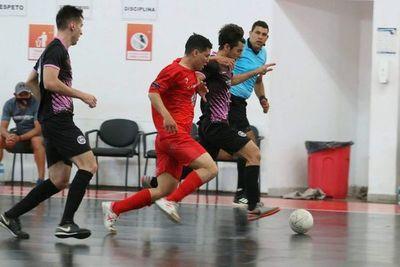 Futsal: Hayes y Escurra son los finalistas