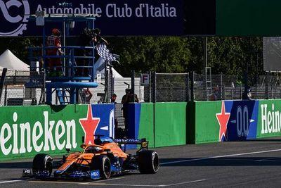 Daniel Ricciardo gana GP de Italia de F1