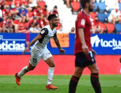 Gol de Omar Alderete en goleada del Valencia