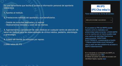 """Consultas médicas atrevés de la página web """"MI IPS"""""""