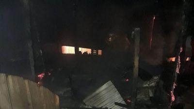 Un hombre quemó una vivienda en Ciudad del Este