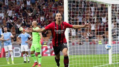 Milan mantiene el pleno con goles de Leao e Ibrahimovic
