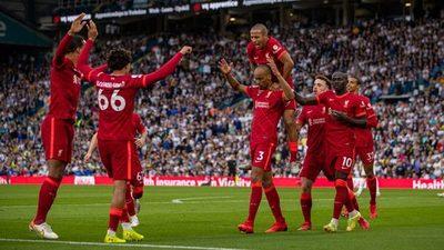 Liverpool gana al Leeds en triunfo agridulce por grave lesión de Elliott
