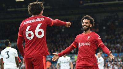 Liverpool golea al Leeds en la cuarta jornada de la Premier