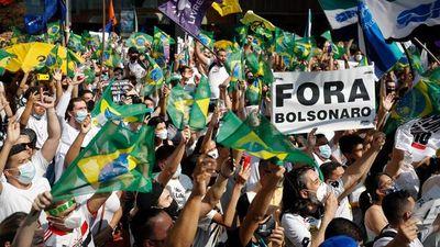 Protestas piden la destitución de Jair Bolsonaro