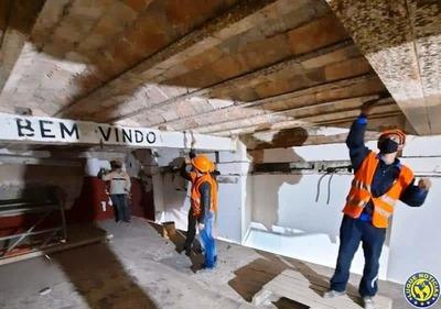 Obra de restauración del edificio histórico del Puerto de Asunción tiene un avance del 80% •