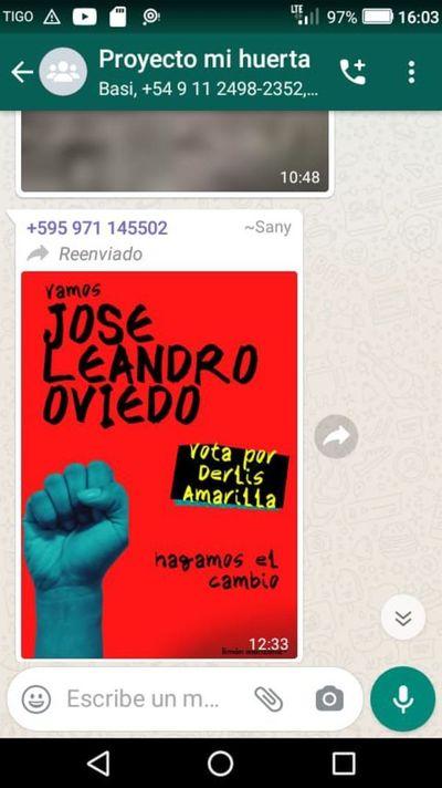 Sigue politización del programa Tekoporã  en Leandro Oviedo