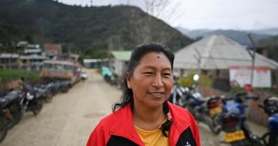 La Nación / Una indígena colombiana lucha por el agua en el país más letal para ambientalistas
