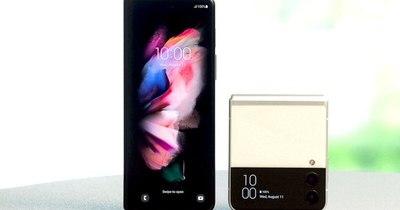 La Nación / Los Samsung Galaxy Z Flip 3 y Z Fold 3 coronan reinado de la marca