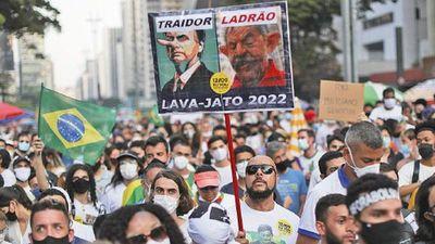 Nuevas protestas en Brasil piden la destitución de Jair Bolsonaro