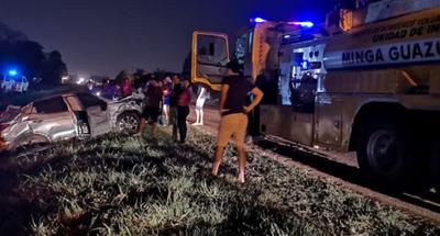Niña muere en accidente, involucrados huyeron con conservadoras