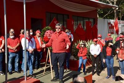 Tiki González destaca unidad de colorados durante festejos por 134º aniversario del partido