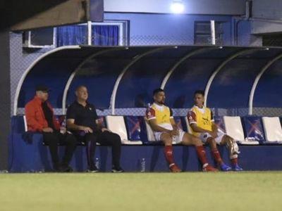 Arce confirmó que jugará la Copa Paraguay con suplentes