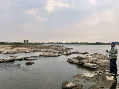 Río Paraguay: Desde MOPC prosiguen trabajos de dragado y no descartan uso de explosivos en algunos puntos