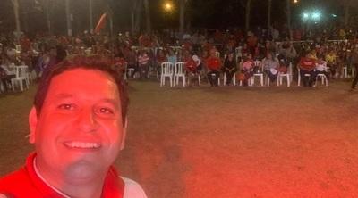 """Realizaron gran """"Encuentro Republicano"""" en Carayaó"""