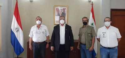 Gobernador participó de importante reunión con técnicos del Censo Agropecuario