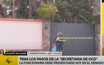 """Funcionaria del Congreso vuelve a """"trabajar"""" en casa de González Daher"""