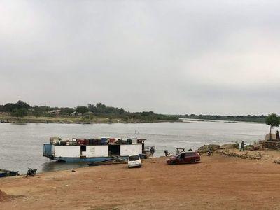 Sigue tendencia a la baja de los ríos Paraguay y Paraná