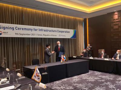 Una comitiva de Corea vendrá para sellar acuerdo del Tren de Cercanías