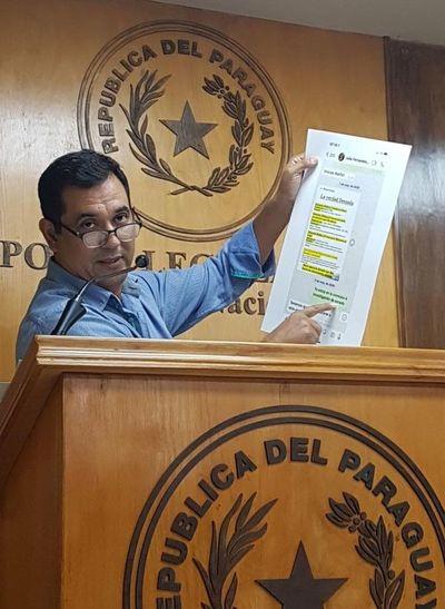 """Senador Martín Arévalo ahora denuncia a director de Aduanas por presunto """"tráfico de influencia"""""""