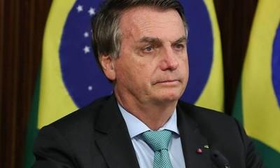 Protestantes piden la destitución de Jair Bolsonaro